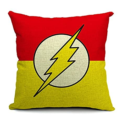 Amazon.com: chicozy Flash Hombre Home Decor Throw almohada ...