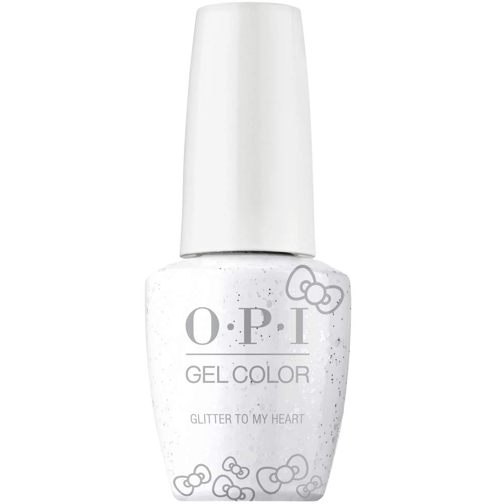 Opi Hello Kitty Gel Nail Polish Collection Gel Color Glitter To My Heart
