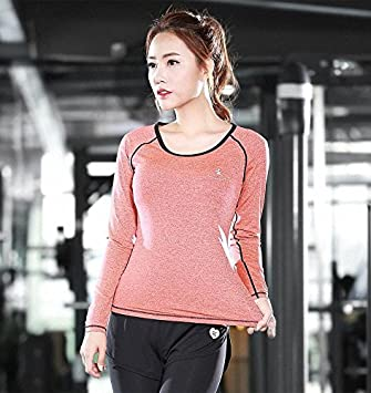 bf271a404 DACHUI Women 2-piece set Fitness Fitness center running ladies ...