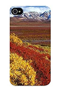 Iphone 4/4s Ikey Case Cover Skin : Premium High Quality Alaska Fall Case(nice Choice For New Year's Day's Gift)