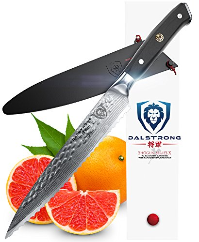 DALSTRONG Serrated Utility Knife - Shogun Series X - Petty - VG10 - 6