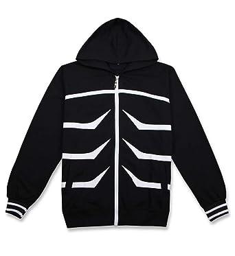 Cosstars Tokyo Ghoul Kaneki Ken Anime Sudaderas con Capucha Chaqueta Cosplay Disfraz Zip Hoodie Jacket Outwear Abrigo: Amazon.es: Ropa y accesorios