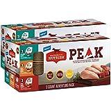 Rachael Ray Nutrish Peak Natural Wet Dog Food Variety Pack, Grain Free Adventure Pack, 3.5 Oz. Tub (Pack Of 18)