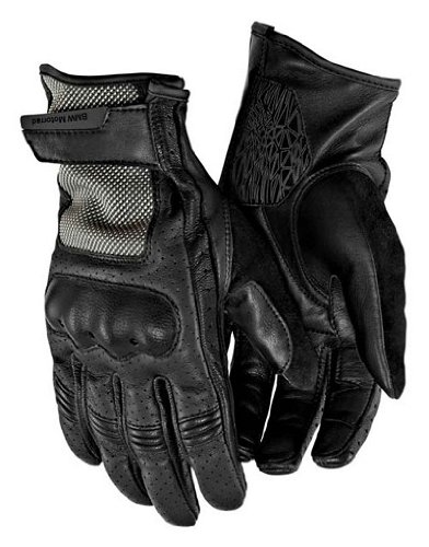 Bmw Riding Jackets - BMW Genuine Motorcycle Riding Airflow Glove 8 - 8.5 Black