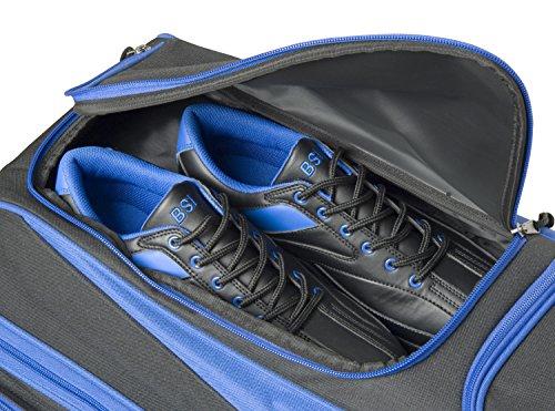 BSI 4301 Triple Roller Bag, Blue/Black by BSI (Image #1)