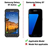 [2 Pack] iVoler [Tempered Glass] Screen Protector for Samsung Galaxy S7 Active [Not for Galaxy S7 ], [0.2mm Ultra Thin 9H Hardness 2.5D Round Edge] with Lifetime Replacement Warranty