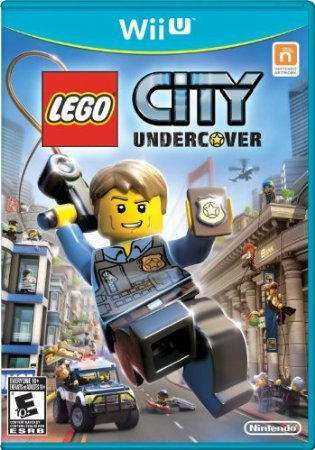 with Wii U LEGO Games design