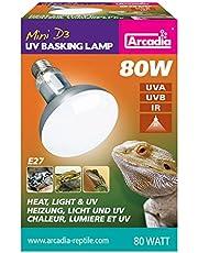 Ardacia sma80e27D3Basking Lamp, 80W