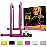 Lebert Fitness Equalizer Bars Total Body Strengthener, Pink