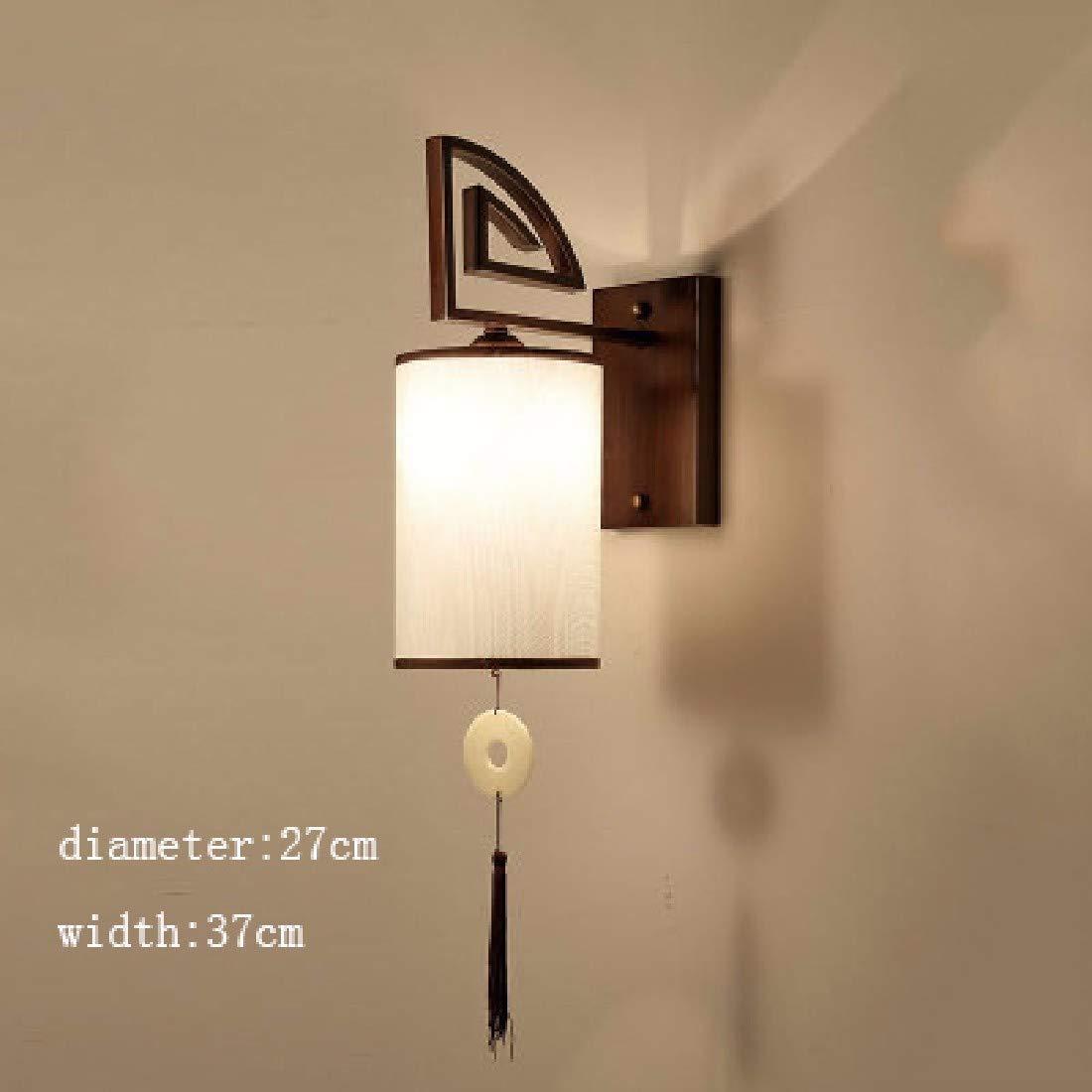 Irinay Wandlampe Loft Amerikanischen Lampe Licht Minimalistischen Vintage Holz Kunst Laterne Kaffee Boutiquen Restaurant Bar Glas Wandleuchte Schlafzimmer Wandbeleuchtung Dekorationen Wandlampe Vintag