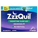 ZzzQuil Nighttime Sleep-Aid Mega Value 4 Pack ( 48 LiquiCaps Each )