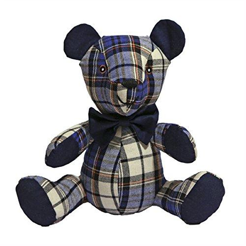 Rosewood 39147 Blaubeer Bär Stoff-Spielzeug für Hunde, blau, 24cm