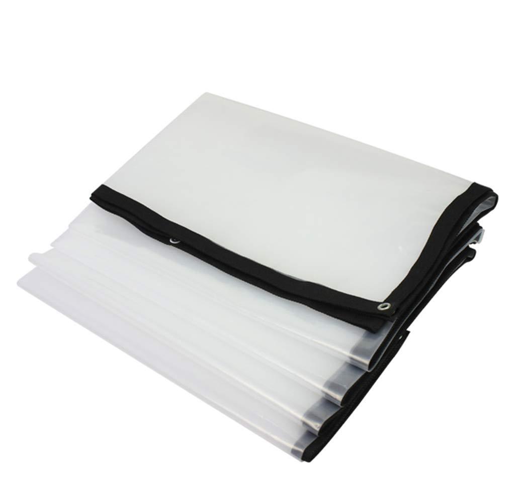 ZBYB Planen-Regen-Wasserdichte transparente Lange Lebensdauer-Isolierung, Größe PVC-25 kann besonders angefertigt Werden