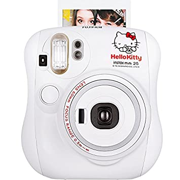 Fujifilm Instax Mini 25 Instant Film Camera Cheki Hello Kitty