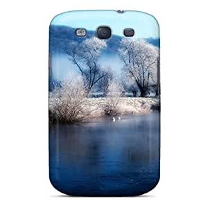 Sanp On Case Cover Protector For Galaxy S3 (snowdrops)