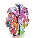 DSSY Heptagon Multicolor Fidget Hand Spinner EDC Focus Toy Finger Spinner Hand Toys for Killing Time Relieves Stress and Anxiety