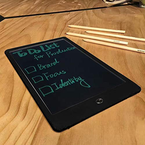 E.I.H. LCD Handwriting Board Portable 10 Inch LCD Writing Tablet Digital Drawing Handwriting Pads Electronic Tablet Board Early Educational Tool for Kids by E.I.H. (Image #2)