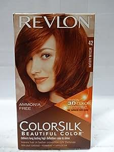 colorsilk permanent hair color medium auburn