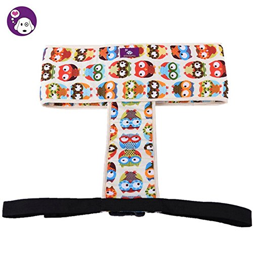 niceEshop(TM) Pure Cotton Baby Toddler Enhanced Dinning High Chair Harness Booster Travel Outdoor Car Portable Safety Seat Belt Strap, Owl