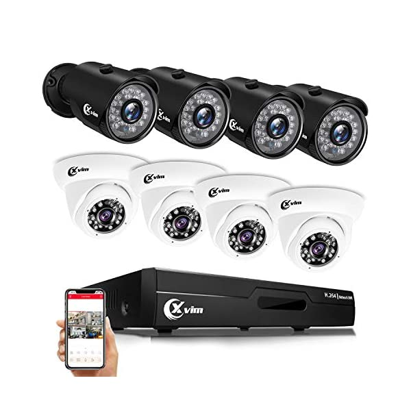 XVIM 8CH 4-in-1 1080P DVR Security Camera System