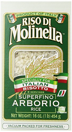 (Molinella Italian Arborio Rice, 1-Pound Boxes (Pack of 6))