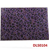 WWQY Marbling Leather Without Washing Placemat , amethyst