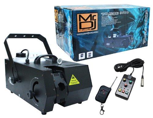 Mr. Dj DRAGON-3500 3500-Watts Max High Output Fog Machine with Adjustable Head Angle by Mr. Dj