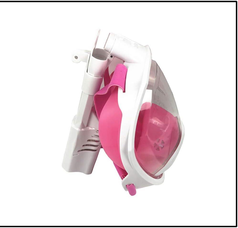 Lcme Maschera da apnea per Immersioni subacquee Snorkeling Set per Snorkeling Occhiali in Vetro temperato per Immersioni gratuite Snorkel a Secco Opzionale con bocchino Confortevole