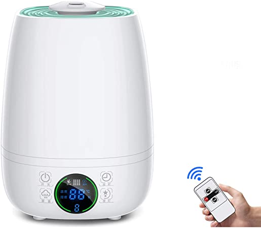 Humidifier | Cool Mist Humidifier | Air Humidifier | Humidifiers for Bedroom | Baby Vaporizer Room Humidifier | Home Ultrasonic Humidifiers for