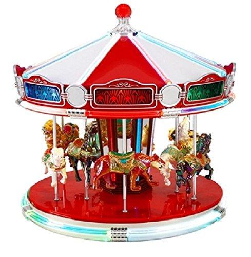 最新のデザイン Mr. Christmas World's World's Fair B07NSDP91Q Animated Musical Carousel Decoration #79789 #79789 [並行輸入品] B07NSDP91Q, Suteki MORE:3afd26fd --- arcego.dominiotemporario.com