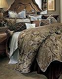 Michael Amini Portofino 13 Piece Comforter, King, Brown
