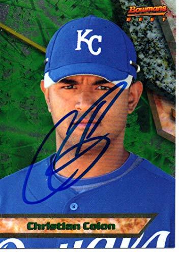 Christian Colon Kansas City Royals 2011 Bowman's Best Rookie Signed Card