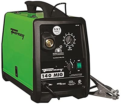 New Forney 309 120 Volt 30 - 140 Amp Heavy Duty Electric Mig Welder Kit 8909392""