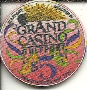 $5 grand casino grand opening gulfport,mississippi casino chip obsolete riverboat?