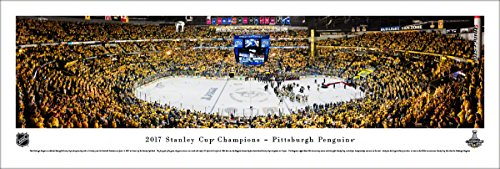 2017 Stanley Cup Champions, Pittsburgh Penguins - Unframed 40 x 13.5 Poster by Blakeway Panoramas