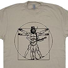 Banjo Bluegrass T Shirts Guitar Da Vinci Soggy Bottom Boys Bass Band Shirtmandude