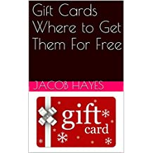 Gift Cards Where to Get Them For Free
