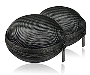 GLCON Earbud/Headset Clamshell Bag [Set of 2]