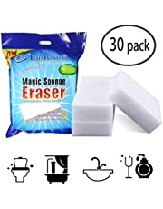 RioRand Generic Jumbo Magic Cleaning Eraser Sponge 100 X 70 X 30mm (Pack Of 30)