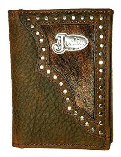 Origional Justin Tri-Fold Wallet Hair on Hide (Justin Rodeo Wallet)