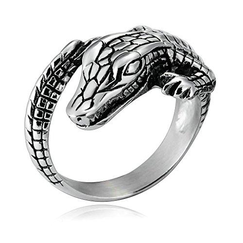 crocodile ring - 5
