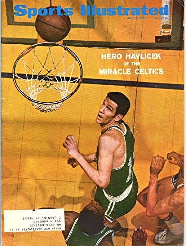 SI: Sports Illustrated May 12, 1969 Hero Havlicek of the Miracle Celtics Cover GOOD