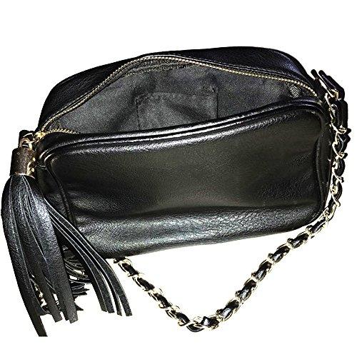 Xardi Londra piccolo trapuntato da donna, borse a tracolla da donna in pelle sintetica Cross Body saddle UK Blue