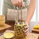 AFCN OFFICE 100 PcStainless Steel Fruit Pineapple Slicer Peeler Cutter Kitchen Tool Pineapple Peeler