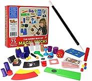 Smart Novelty - Juego de truco mágico para niños con varita, tarjetas y más juguetes mágicos, trucos mágicos f