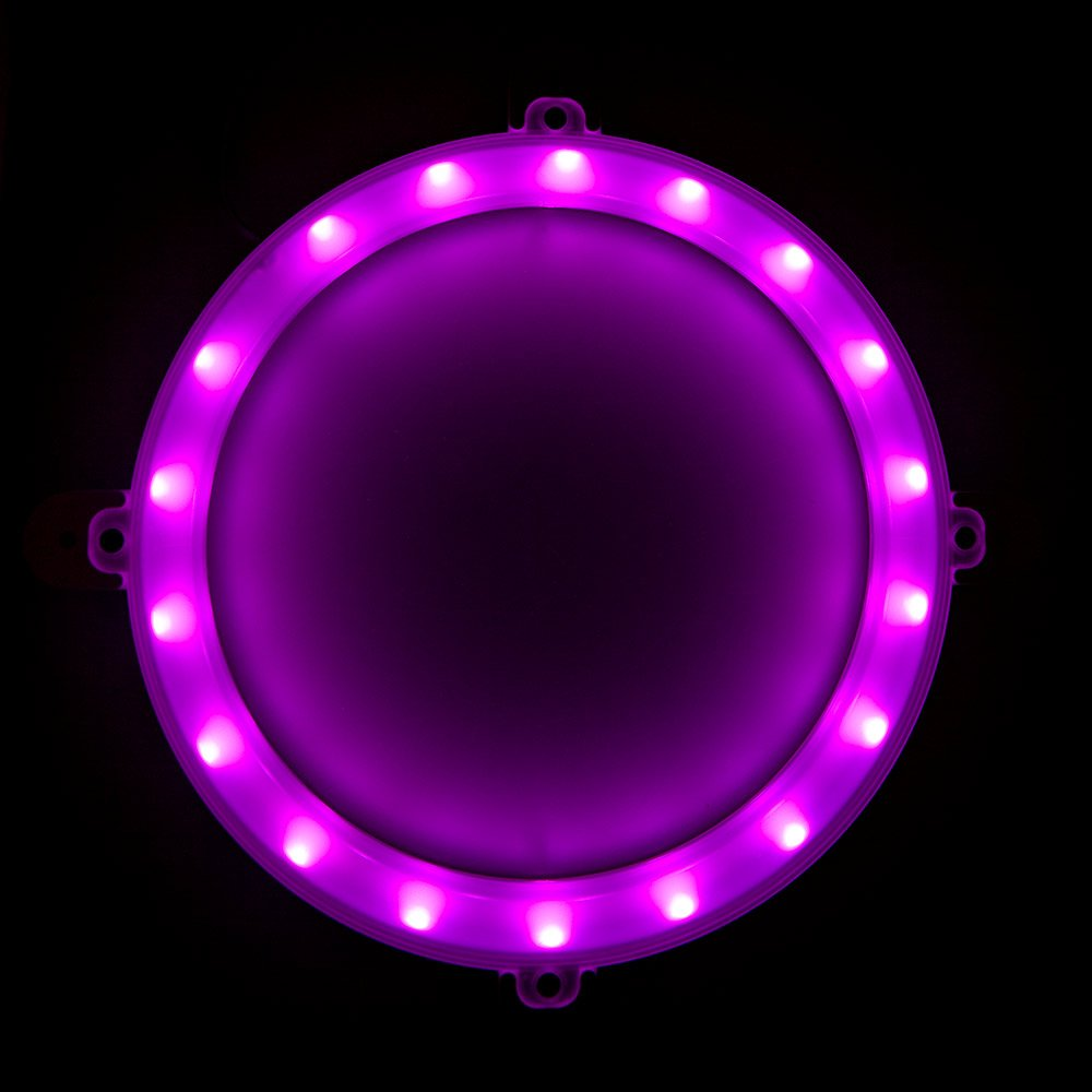Blinngo Cornhole LED Lights, Ultra Bright Standard Cornhole Night Light for Family Backyard Bean Bag Toss Cornhole Game, Four Color Options, Long-Lasting Over 72 Hours, 2 Set (Pink) by Blinngo