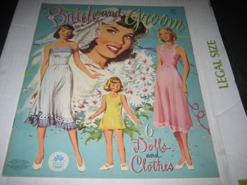 Brides and Grooms: 6 Dolls and Clothes
