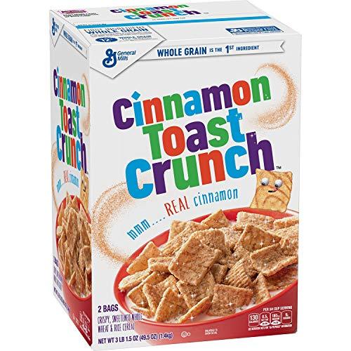Cinnamon Toast Crunch Cereal (49.5 oz. box)vevo
