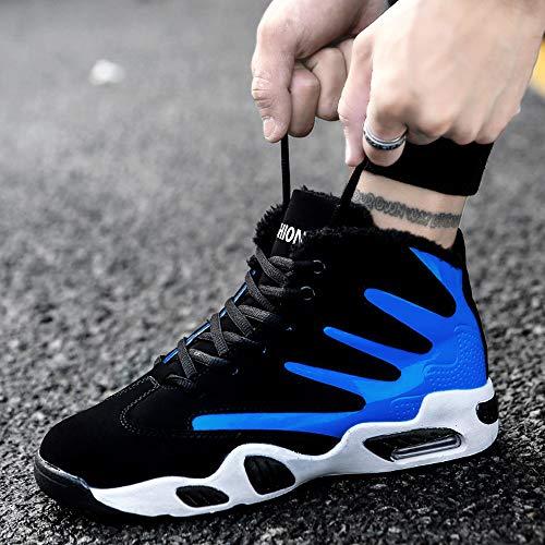Libre Calzado Al De Basketball Deportivo Bottom Hombre Lace Algodón Aire Zapatillas Soft Hombres Zapatos Up Atlético Para Moda Casual Azul Jiameng Deporte 7wAxqvH