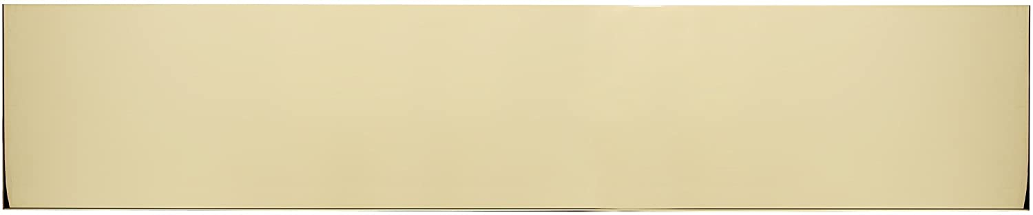 BRASS Accents A09-P0634-630 6 x 34 Kick Plate Satin Stainless Steel Screw Mount,